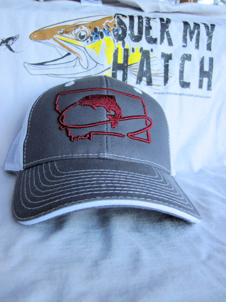 Grey Fitted Trucker