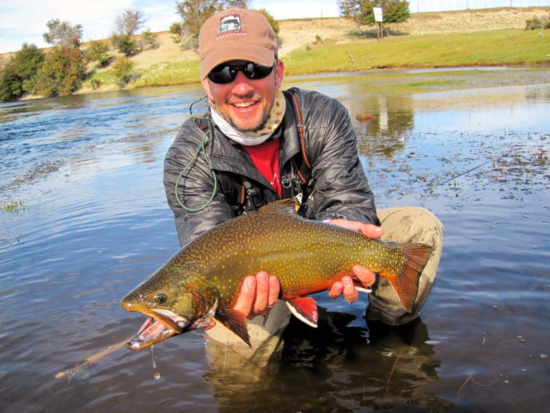 Fly fishing in patagonia brook trout with patagonia for Patagonia fly fishing